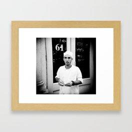 NYC holga portraits 1 Framed Art Print