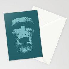 Maoi Head Stationery Cards