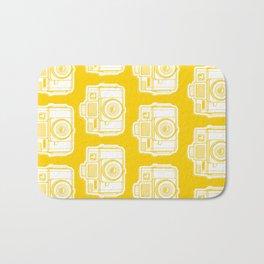 I Still Shoot Film Holga Logo - Reversed Yellow Bath Mat