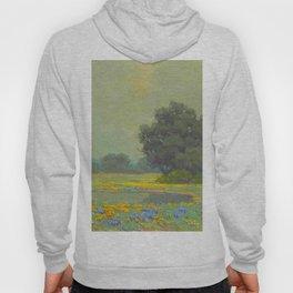 Granville Redmond (1871-1935) Landscape Flower Field Hoody