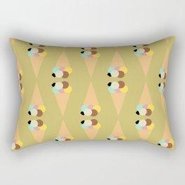 Ice cream cone fantasy Rectangular Pillow