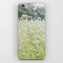 In a Field of Wildflowers iPhone Skin