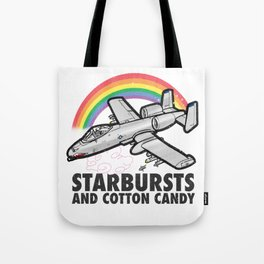 Starbursts and Cotton Candy Tote Bag