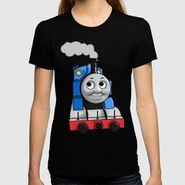 Thomas puffing along T-shirt