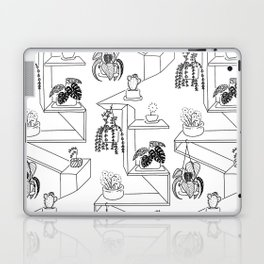 Plant on shelf Laptop & iPad Skin