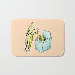 Banana Laundry Bath Mat