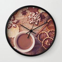 Cookies & tea Wall Clock