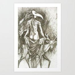 Mi Trova Art Print