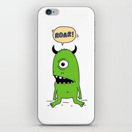Roar! Monster! iPhone Skin