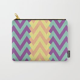 Zig Zag Design Carry-All Pouch