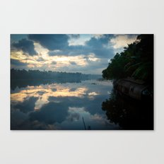 Backwaters Canvas Print