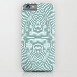 Boho, Safari, African, Pattern, Turquoise iPhone Case