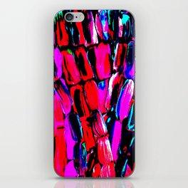 Dark Red Sugarcane iPhone Skin