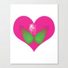 lovebomb-iiis - élan vital ephemeral - in_destruction creation! Canvas Print