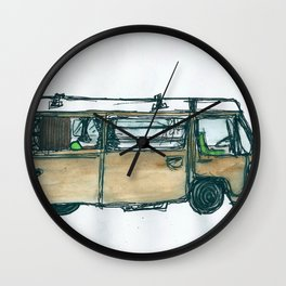 The Bus Wall Clock