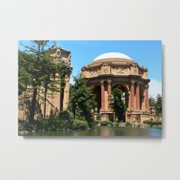 View Over The Lagoone To The Palace Of Fine Arts - San Francisco Metal Print