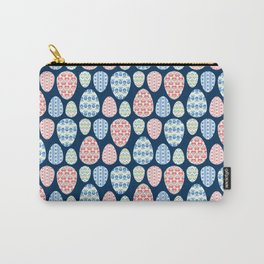 Painted eggs pattern Carry-All Pouch