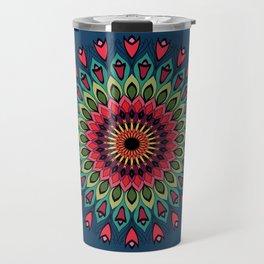 Ethnic Flower 09 Travel Mug