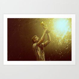 World Cup 2014 Series: Germany Champions Art Print