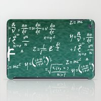 math iPad Cases featuring Math Equations by WIGEGA