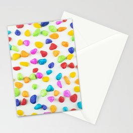 Rainbow rocks Stationery Cards