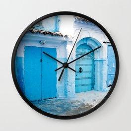 Chaouen Wall Clock