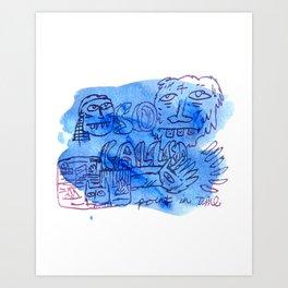 So Called Art Print