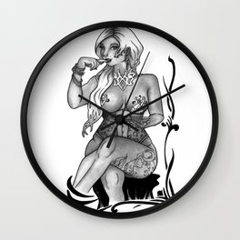 Just a Taste Wall Clock