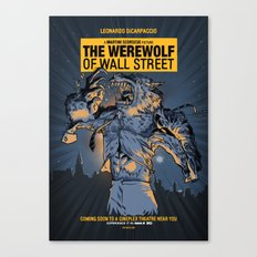 The Werewolf of Wall Street Canvas Print
