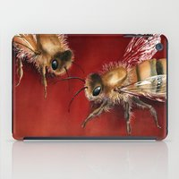 bees iPad Cases featuring Bees by Dana Martin