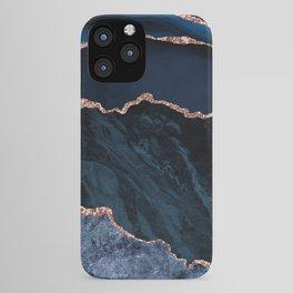 Beautiful Rose Gold Desert Design Pattern iPhone Case