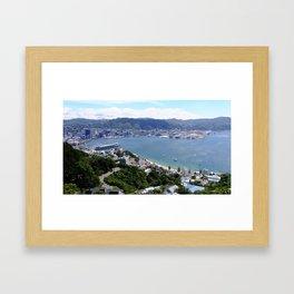 Wellington Waterfront Framed Art Print