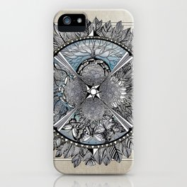 the south, she waits iPhone Case