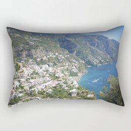 Photo seascape Amalfi Coast Italy Rectangular Pillow