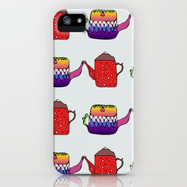 Teapots iPhone Case