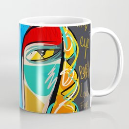 Looking for the third eye street art graffiti Coffee Mug