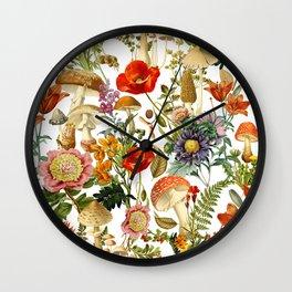 Mushroom Dreams 2 Wall Clock