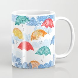 Umbrella Spring - by Kara Peters Coffee Mug