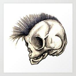 Punk Isn't Dead Art Print
