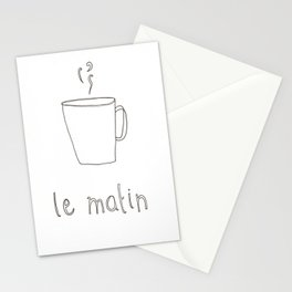 Cafe Le Matin Stationery Cards