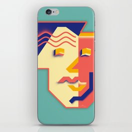 Be Yourself As Is iPhone Skin