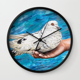 Dove Wall Clock