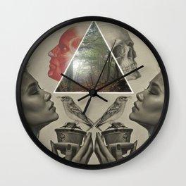 Between life and death Wall Clock