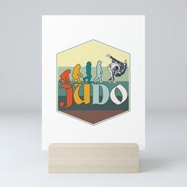 Judo Evolution Mini Art Print