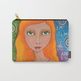 Colourful girl Carry-All Pouch