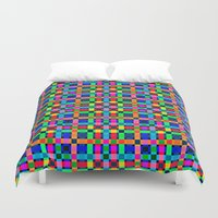 labyrinth Duvet Covers featuring Labyrinth Pattern by Peter Gross