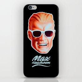 Max Headroom - TV Shows iPhone Skin