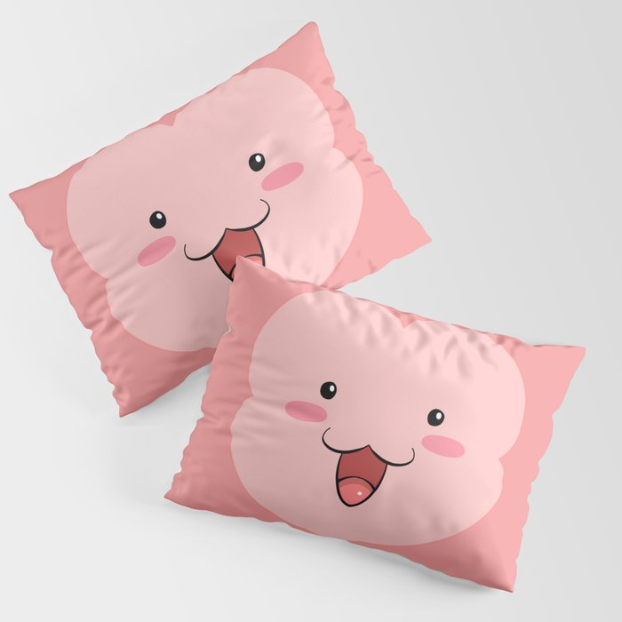 Peepoodo Face Pillow Sham