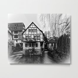 Old timbered house Metal Print