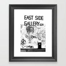 East Side Gallery - Berlin Framed Art Print